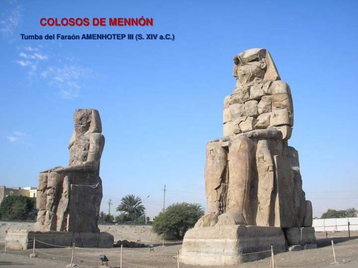 COLOSOS DE MENNÓN