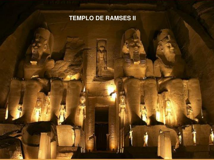 TEMPLO DE RAMSES II