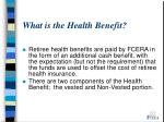 what is the health benefit