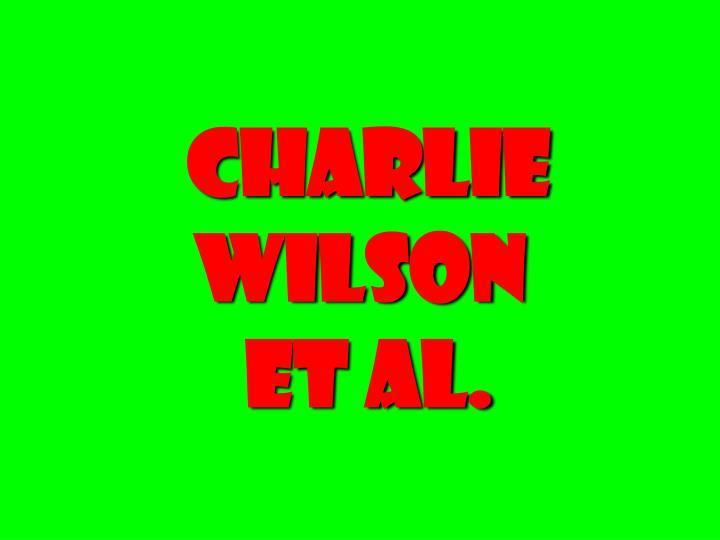 Charlie Wilson