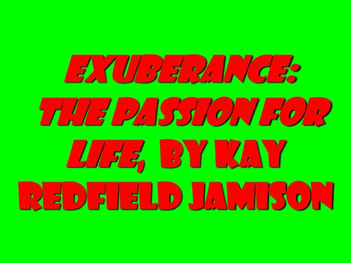 Exuberance: