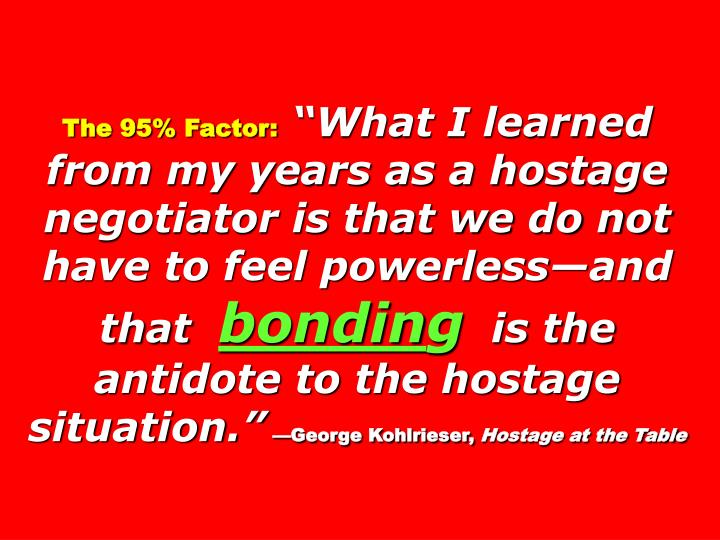 The 95% Factor: