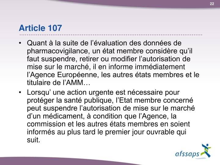 Article 107