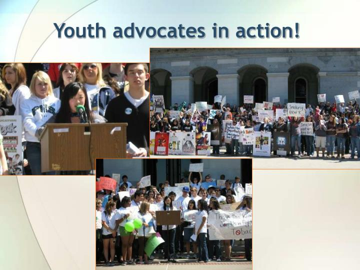 Youth advocates in action!