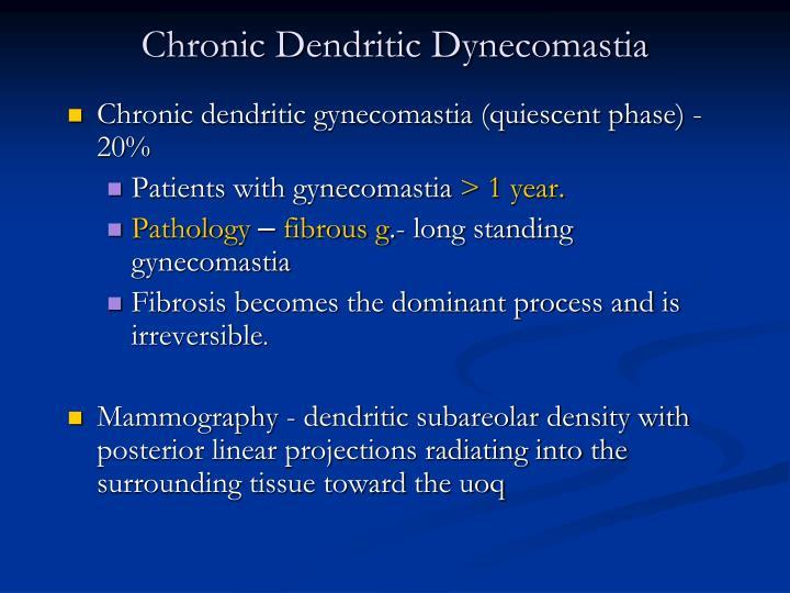 Chronic Dendritic Dynecomastia