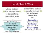local church work