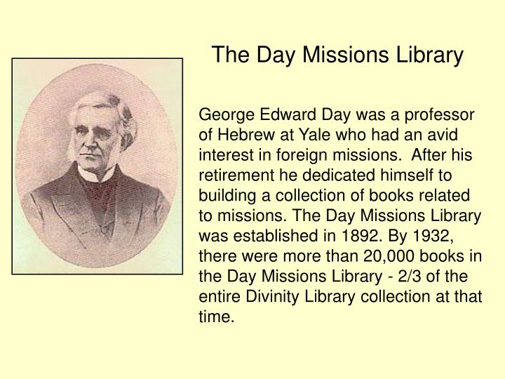 The Day Missions Library