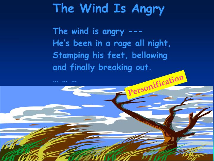 The Wind Is Angry