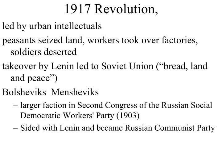 1917 Revolution,