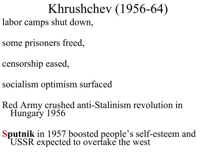 Khrushchev (1956-64)