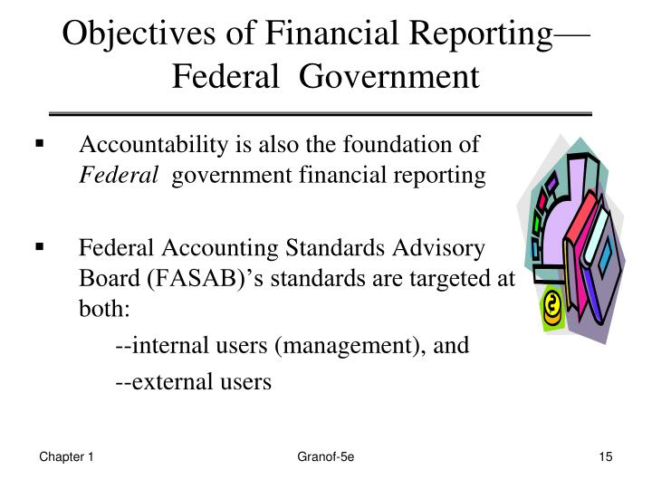 Objectives of Financial Reporting—