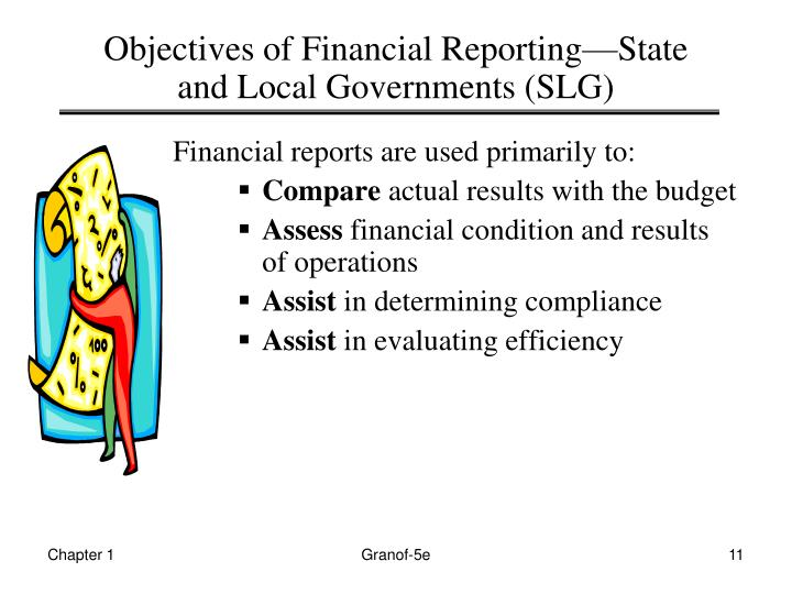 Objectives of Financial Reporting—State