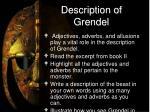 description of grendel