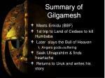 summary of gilgamesh