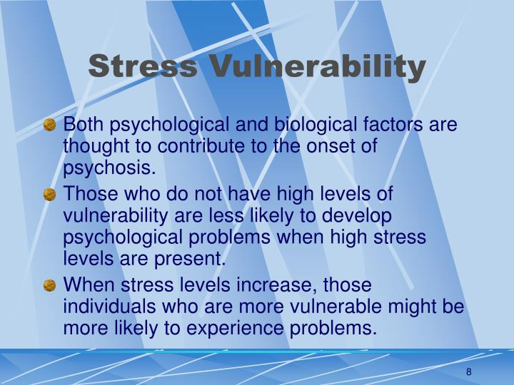 Stress Vulnerability