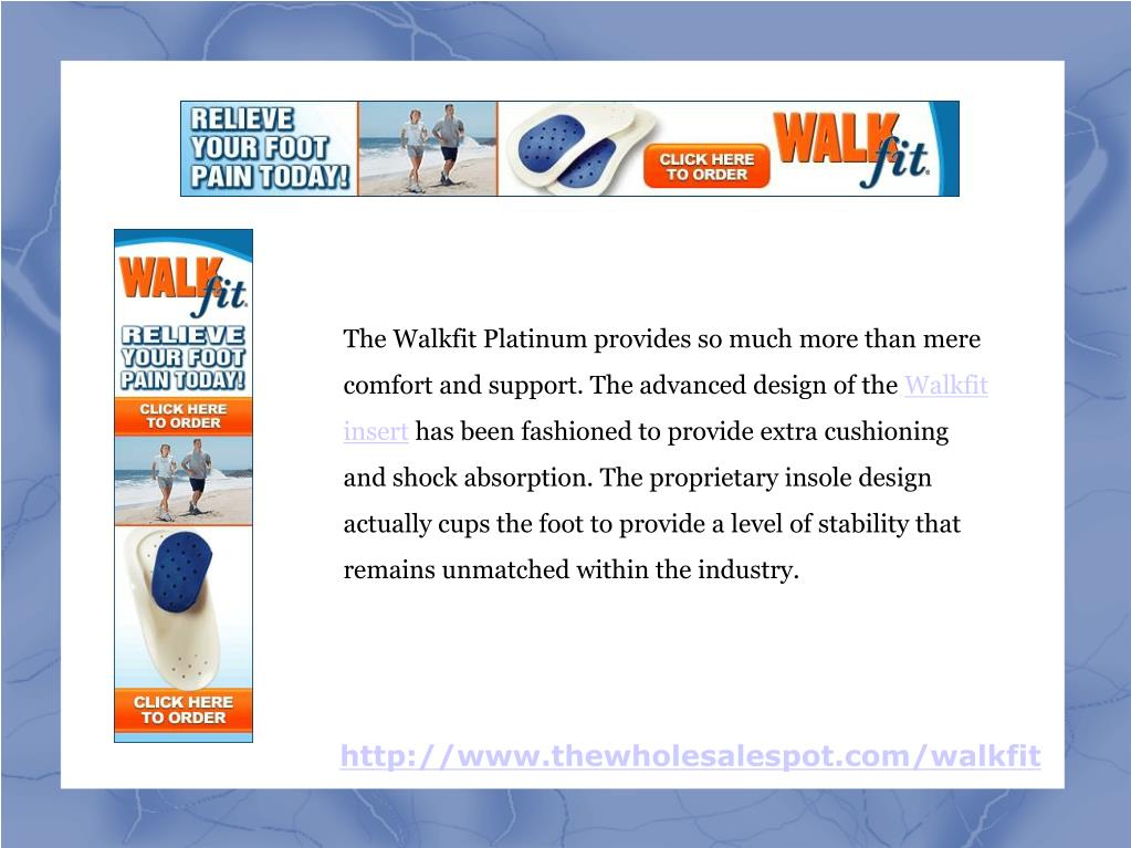 The Walkfit Platinum provides so much more than mere comfort and support. The advanced design of the