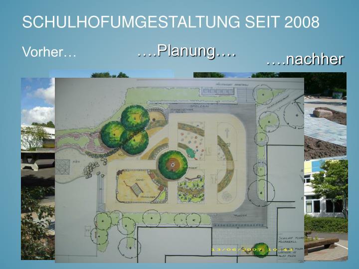 ….Planung….