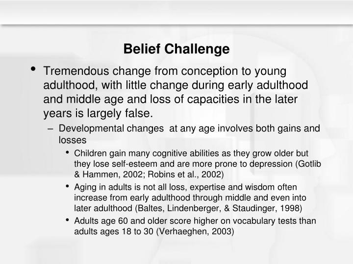 Belief Challenge