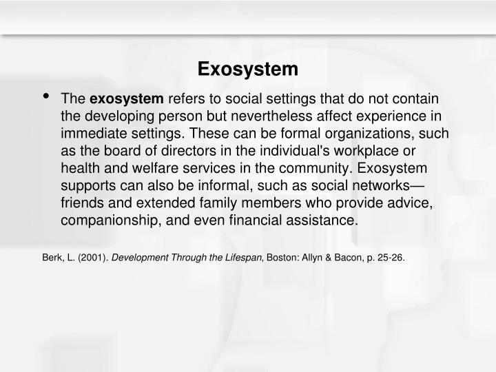Exosystem
