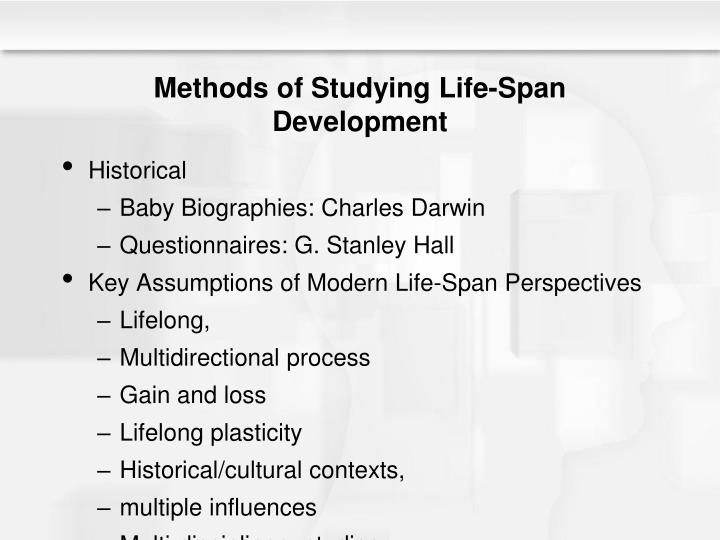Methods of Studying Life-Span Development