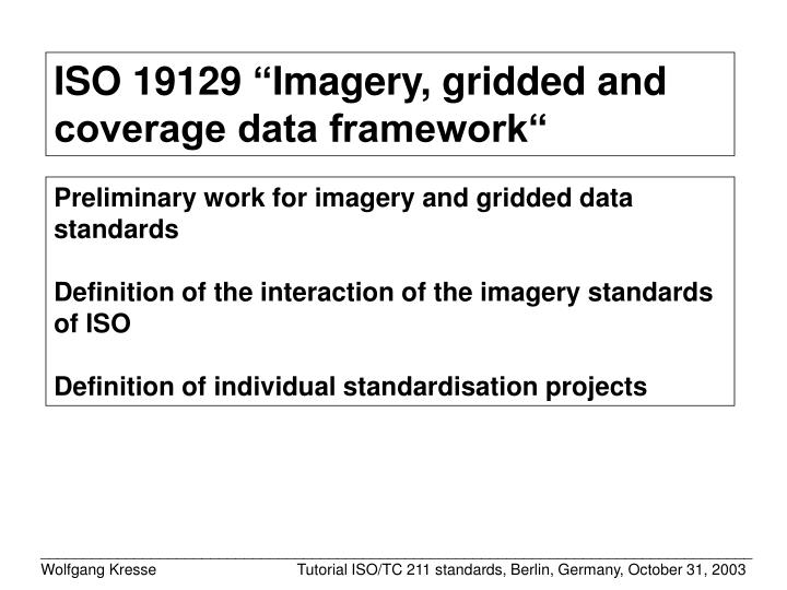 ISO 19129
