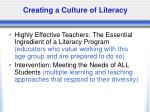 creating a culture of literacy1