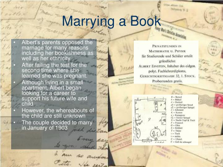 Marrying a Book