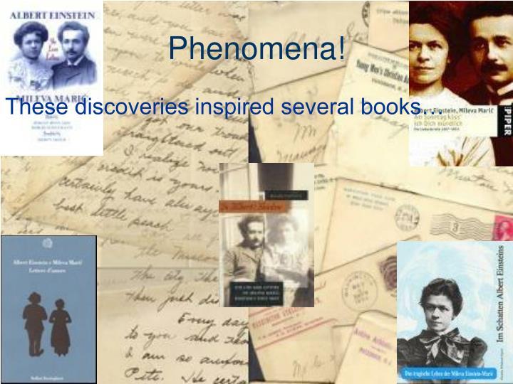 Phenomena!