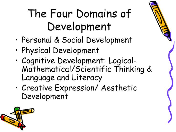 The Four Domains of Development