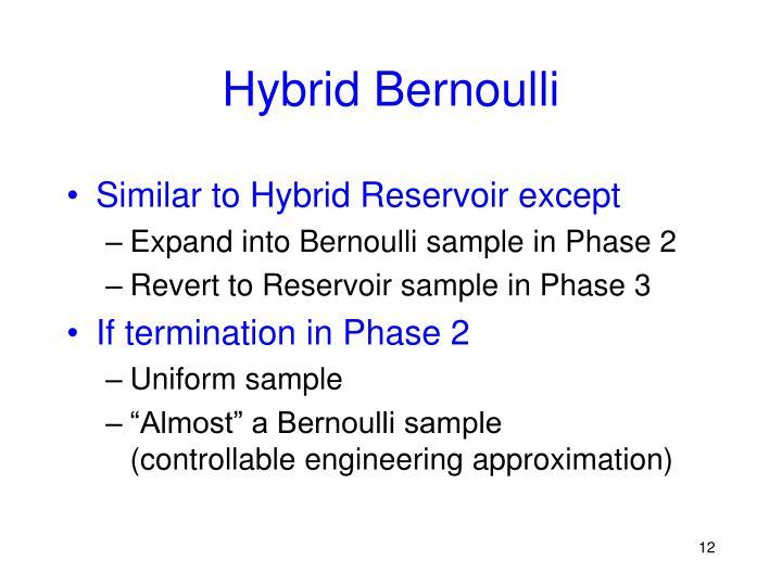 Hybrid Bernoulli