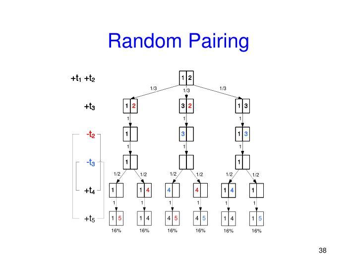 Random Pairing