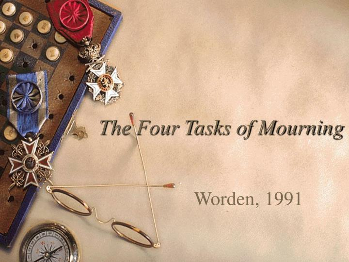 The Four Tasks of Mourning
