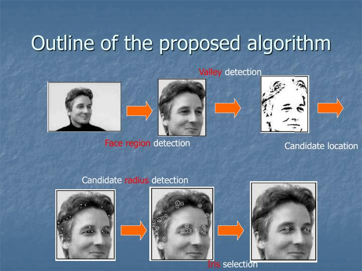 Outline of the proposed algorithm