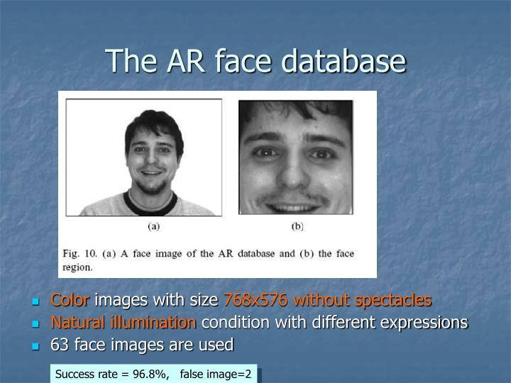The AR face database