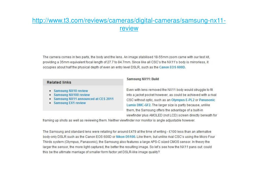 http://www.t3.com/reviews/cameras/digital-cameras/samsung-nx11-review