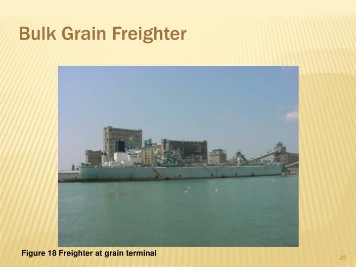 Bulk Grain Freighter