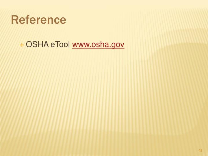 OSHA eTool