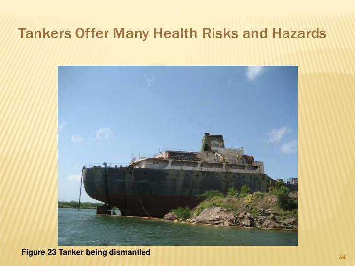 Tankers Offer Many Health Risks and Hazards