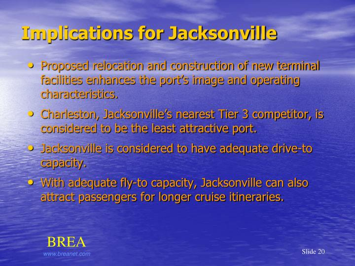 Implications for Jacksonville