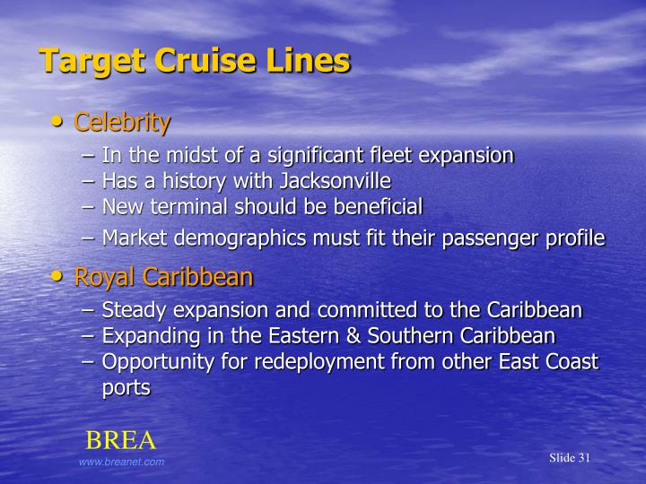 Target Cruise Lines