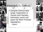 kennedy s critics