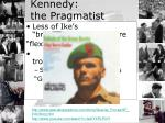 kennedy the pragmatist1