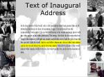 text of inaugural address2