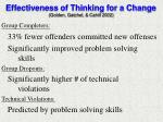 effectiveness of thinking for a change golden gatchel cahill 2002