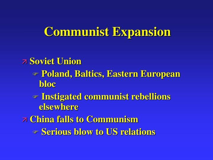 Communist Expansion