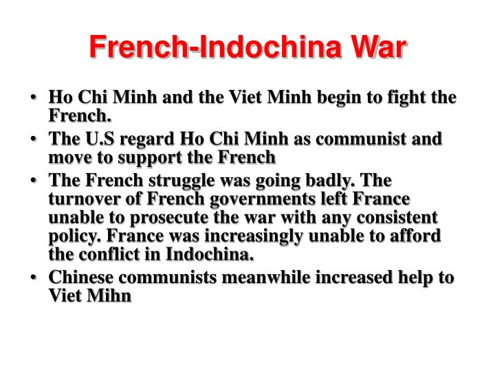 French-Indochina War