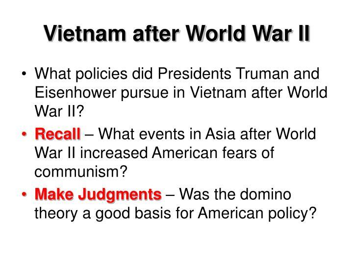 Vietnam after World War II