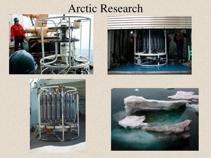 Arctic Research