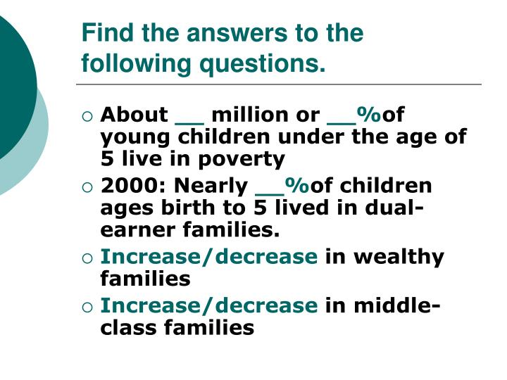 Find the answers to the following questions.