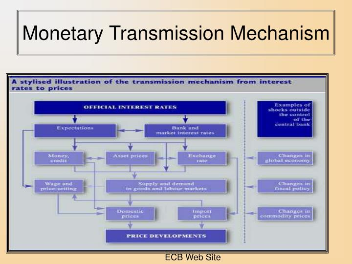 Monetary Transmission Mechanism